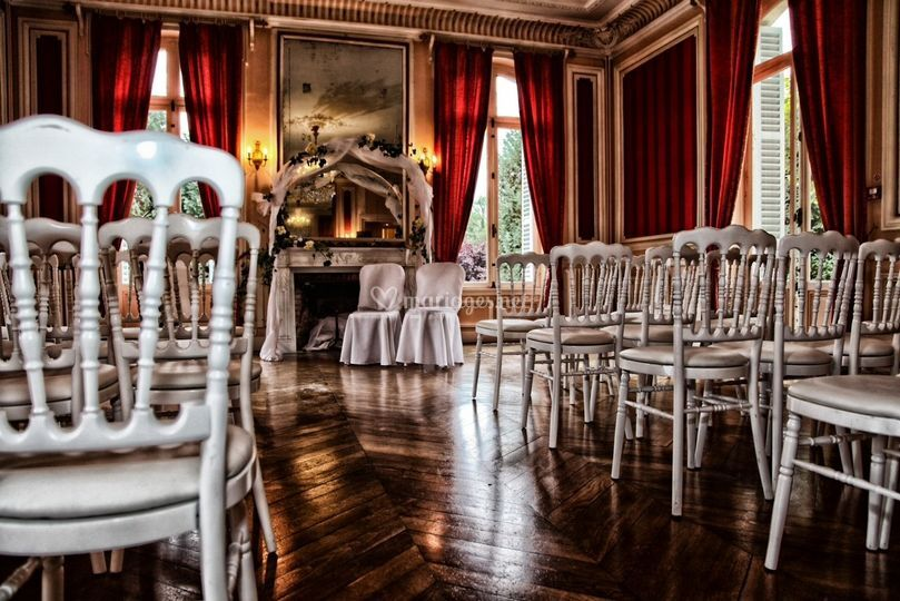 Céremonie salon Napoléon