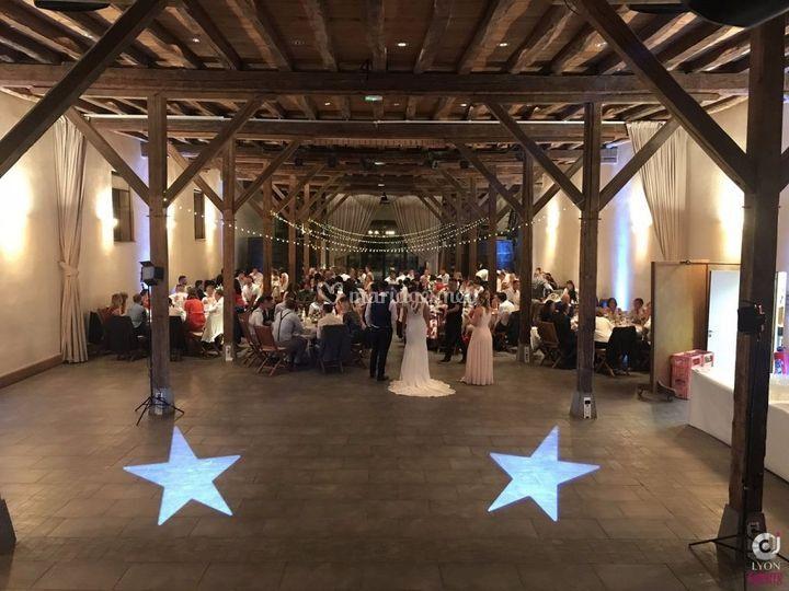 Mariage château de Pizay