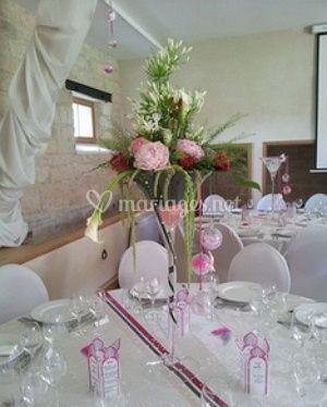 Idéal pour les décorations de table