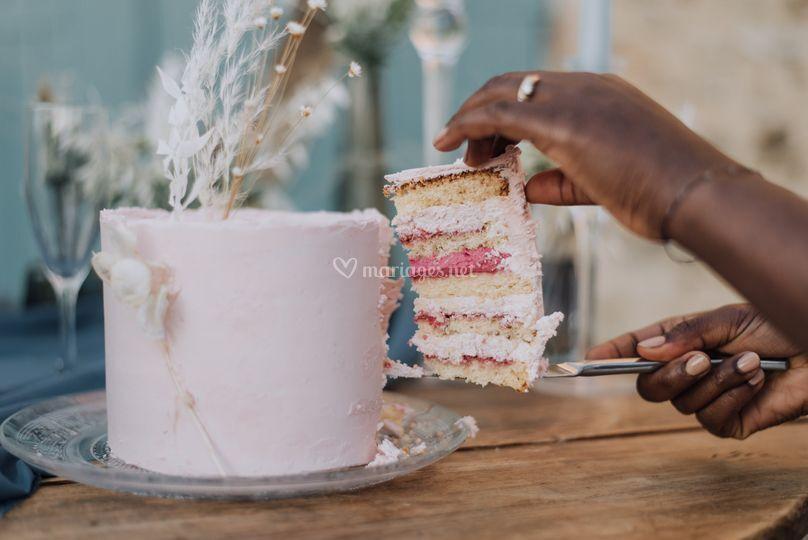 Framboise Passion Wedding Cake