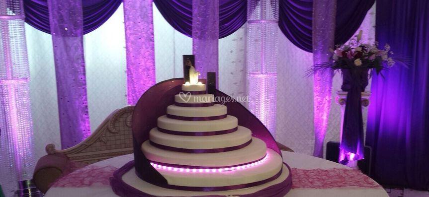 Wedding Cake Montée des marche