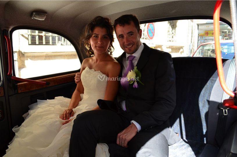 De beaux mariés