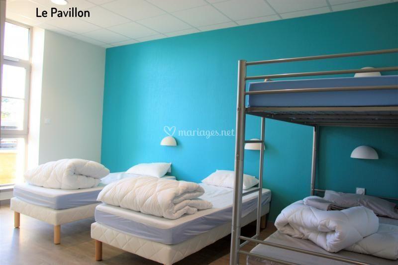 Le Pavillon : chambres