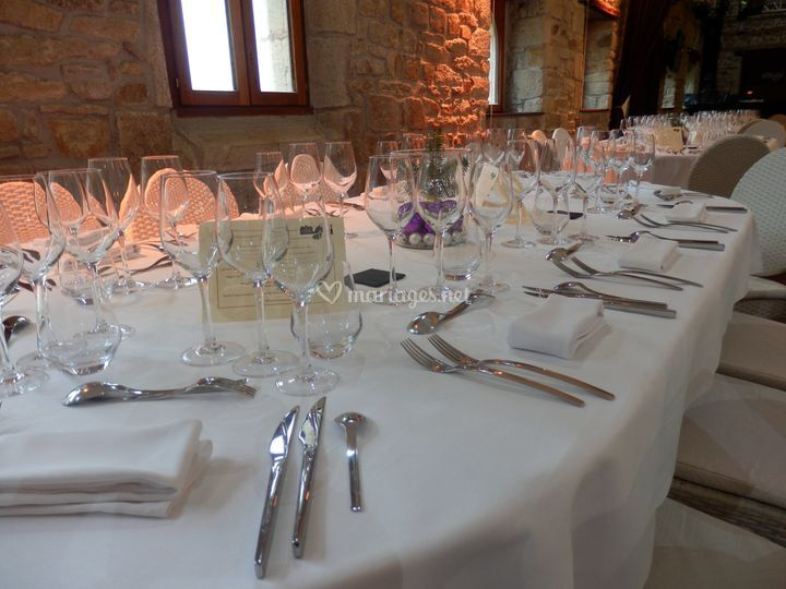 Table pour réception