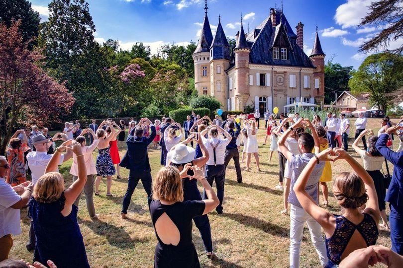 Mariage Chateau le Haget Gers