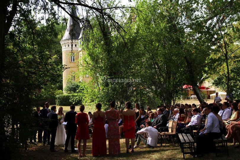Mariage Château le Haget Gers