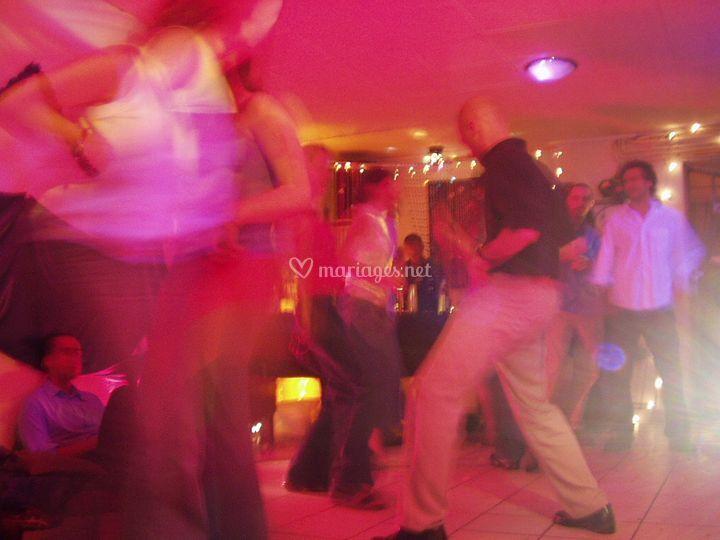 Salle de soirée dansante