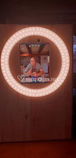 Boîte à selfie