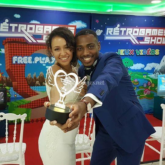 Emma et Glenn ont gagné !!