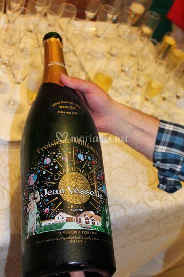 Jéroboham de Champagne