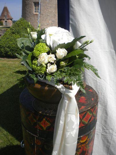 Bouquet dans vase