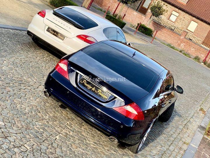Porsche Panamera&Mercedes CLS