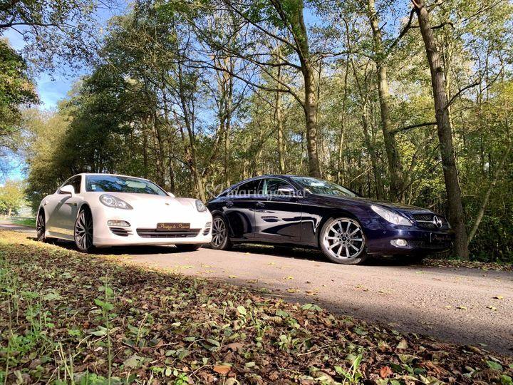 Porsche Panamera&MercedesCLS