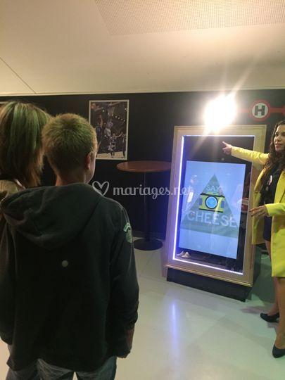 Animation Miroir Magique
