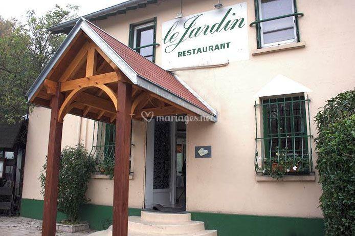 Restaurant le jardin for Hotel domont