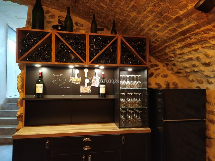 Bar à vin Cave Voûtée