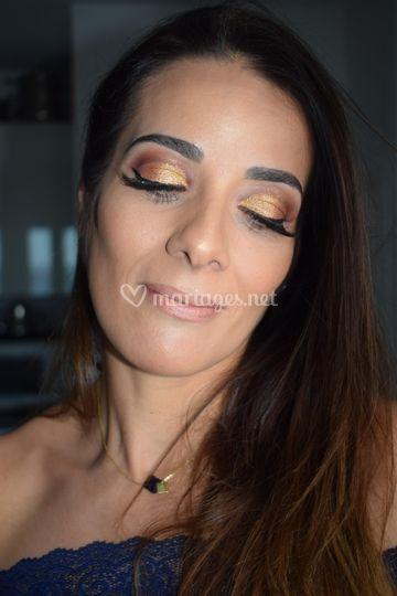 Makeup gala sophistiqué