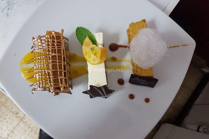 Trio chocolat