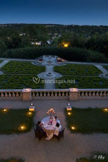 dner deux avant mariage galerie de photos de chteau dauvers - Chateau D Auvers Mariage