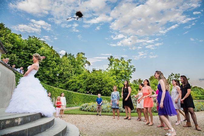 le bouquet mariage sur chteau dauvers - Chateau D Auvers Mariage