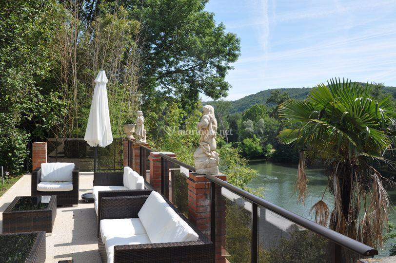 Terrasse Garonne