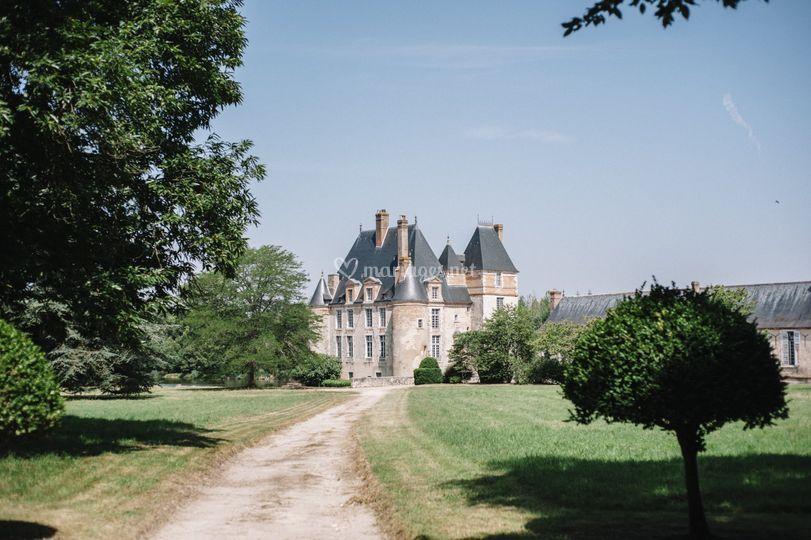 En route vers le château ...
