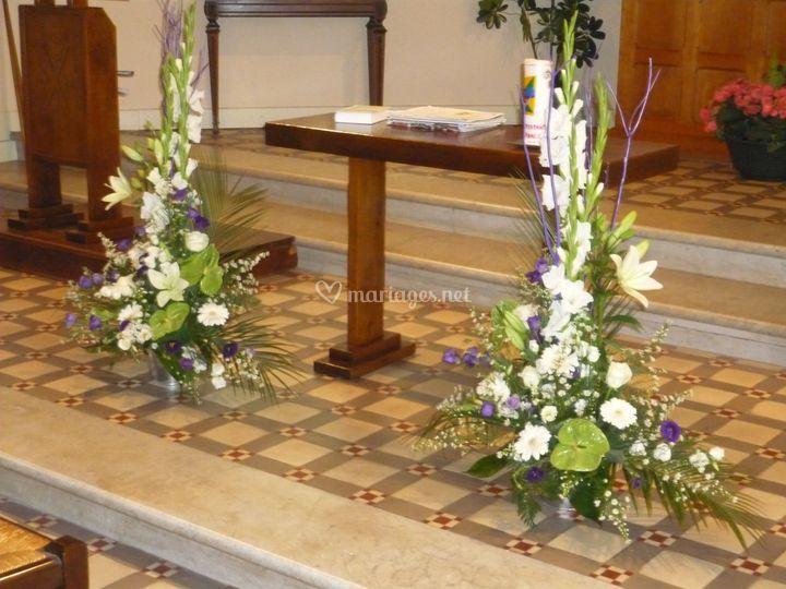 Décoration du lieu de culte