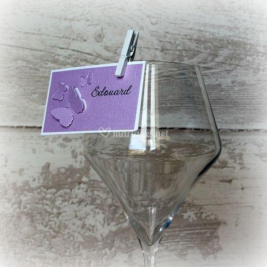 Marque place verre