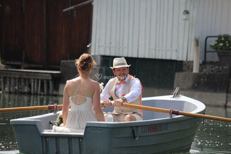 Une petite balade en barque