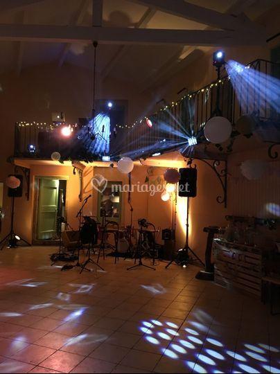 Installation concert + DJ