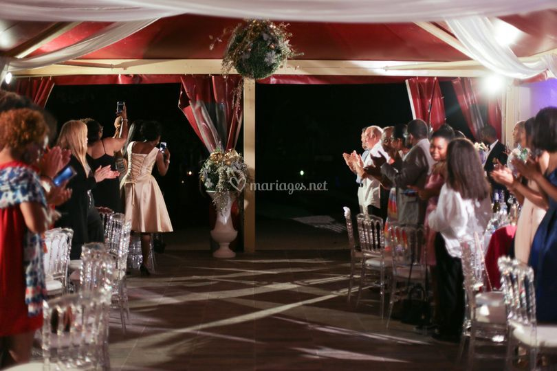 Mariage - salle de réception