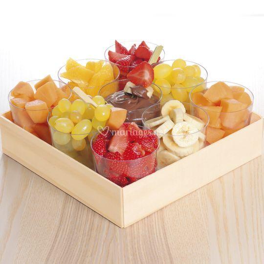 Fruits frais chocolat