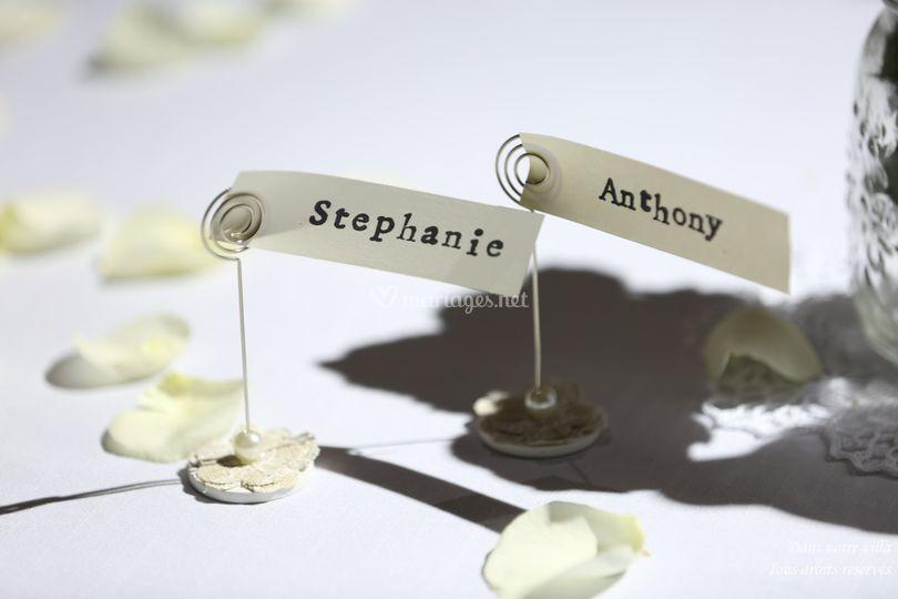 Stéphanie et Anthony