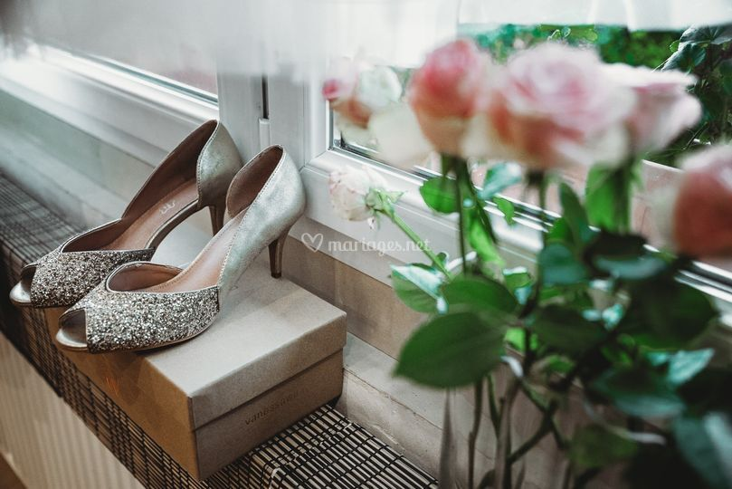 Shoes & Flowers