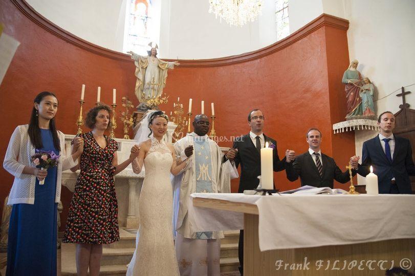 Bijie et Bertrand cérémonie