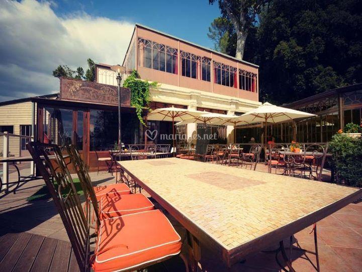 Le Restaurant Le Grand Arbre