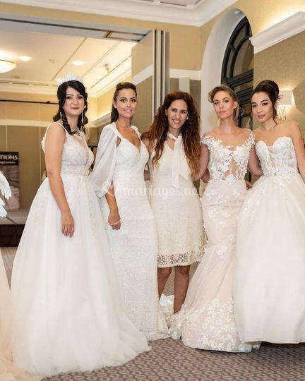 Défilé de la mariée