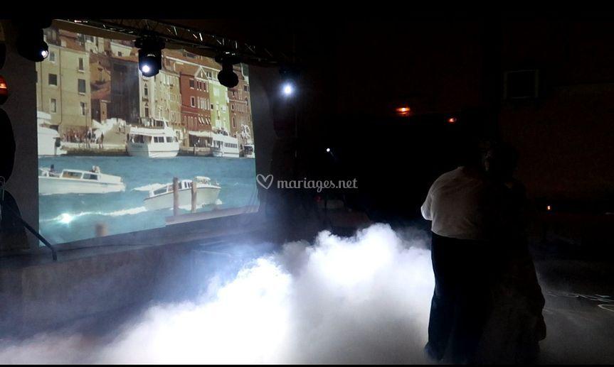 Ecran Géant / M. Fumée lourde