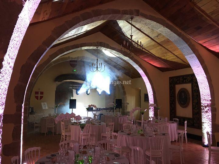 Chateau d'Espinas Mise en lum
