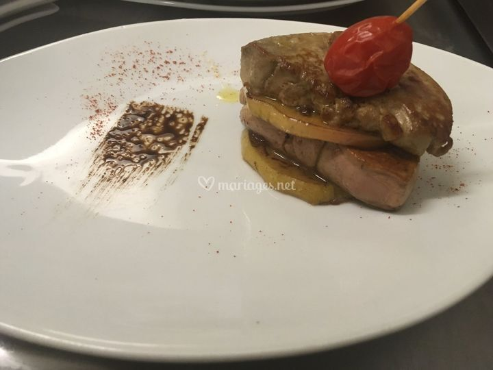 Foie Gras Poêlé au Pomme
