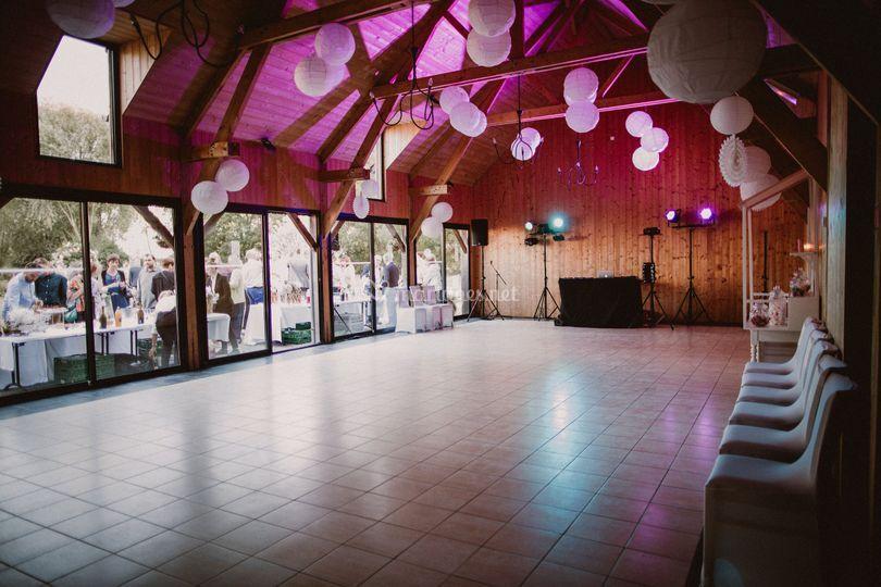 La salle bois, version bal