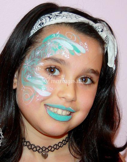 Maquillage givré