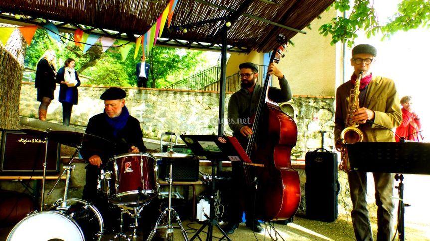 Jazzador au mariage