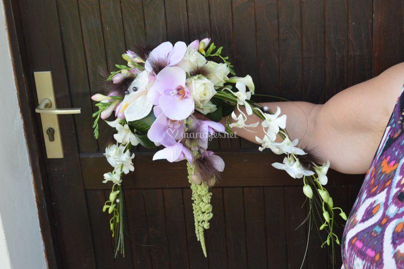 """Bouquet de marie """"demi lune"""""""