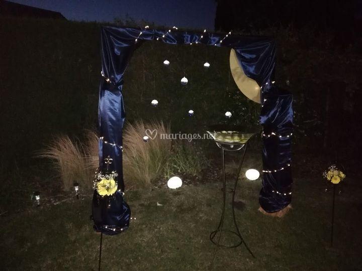 Arche étoilée, nocturne