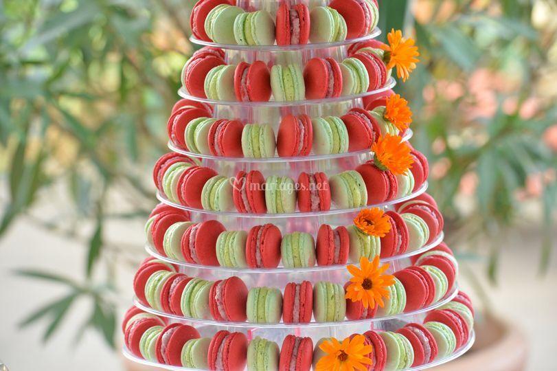 La pyramide de macaron