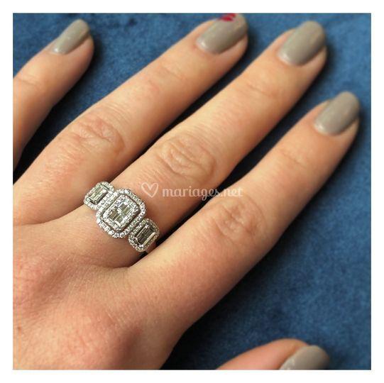 Bague Diamants 0,60 carats