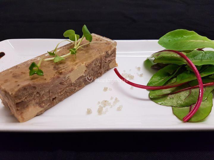 Pressée canard au foie gras