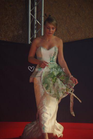 Création  Roselyne Desti salon du mariage