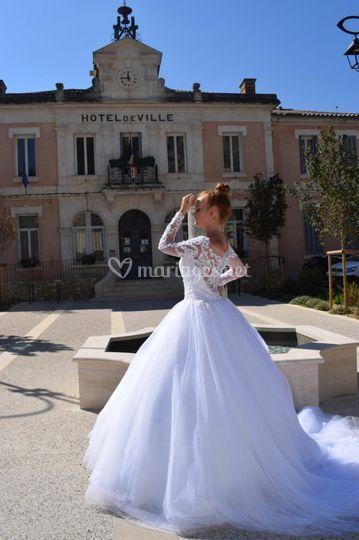 Mariage sous l'olivier
